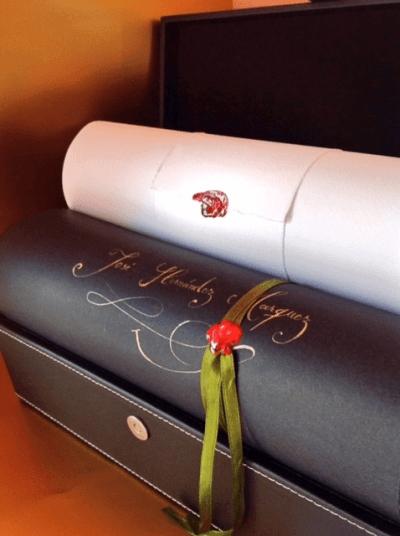 regalo original del significado de Escritura y Firma