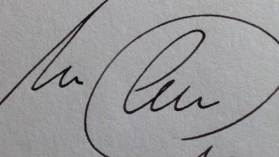 Pericia caligráfica