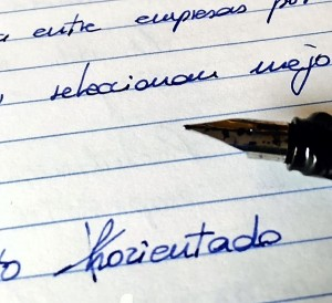 Grafología: Lapsus Cálami Errores Escriturales